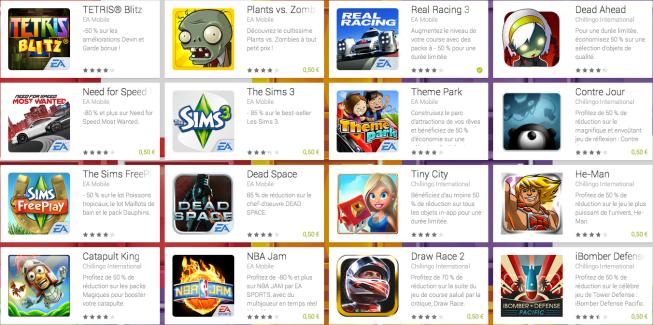 16 jeux en promotion sur le Play Store jusqu'au 23 juin !