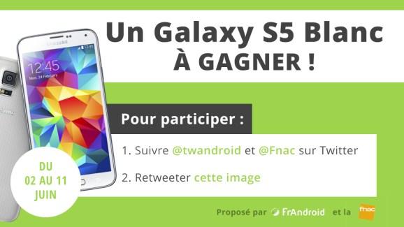 Concours : remportez un Samsung Galaxy S5 !