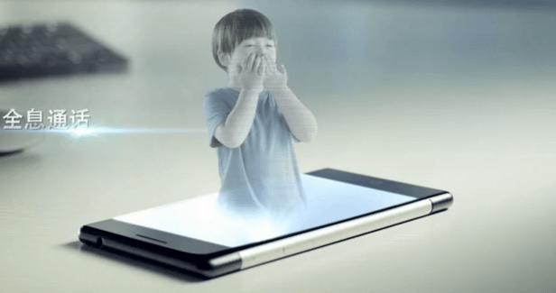 Estar Takee : smartphone holographique ou