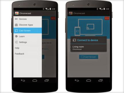 Comment afficher l'écran d'un smartphone ou d'une tablette Android sur une TV ?