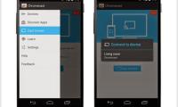 Comment afficher l'écran d'un smartphone ou d'une tablette...