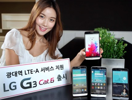 Le LG G3 Cat.6 (compatible 4G+) et son Snapdragon 805 est officiel !
