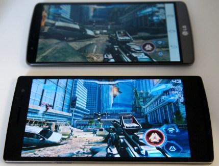 LG G3 vs Oppo Find 7 : zoom sur les dalles QHD et les performances en jeu