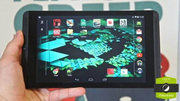 Test de la Nvidia Shield Tablet : le Tegra K1 et les joueurs à l'honneur
