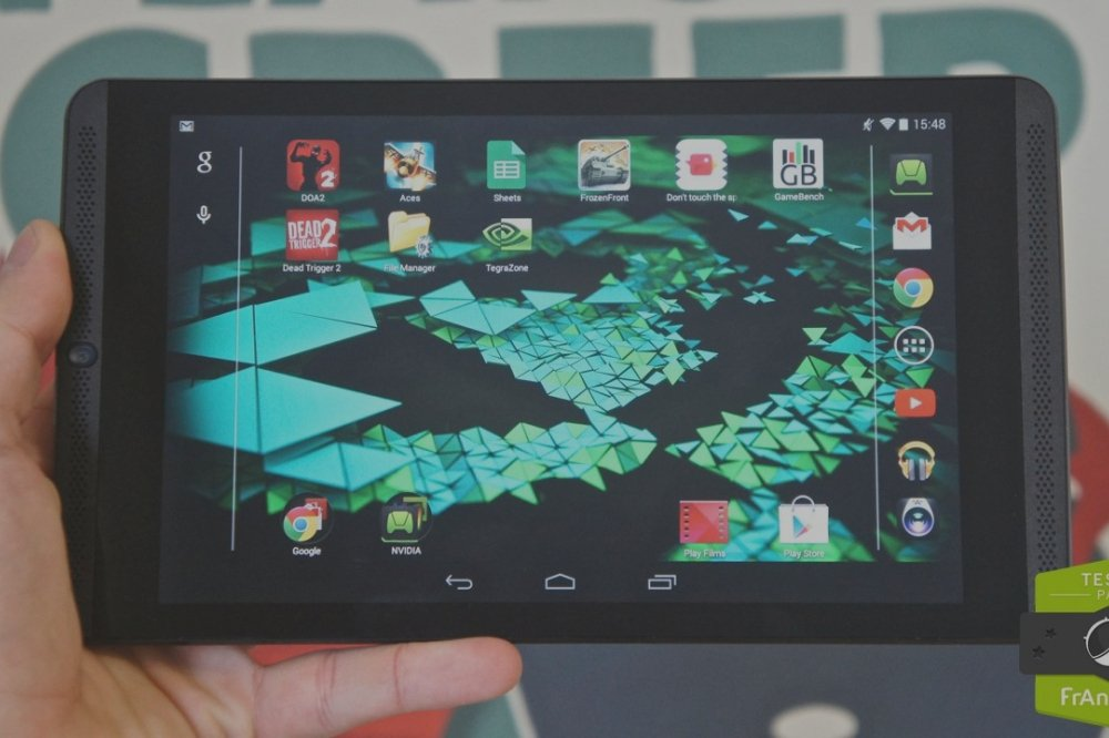 Test de la Nvidia Shield Tablet