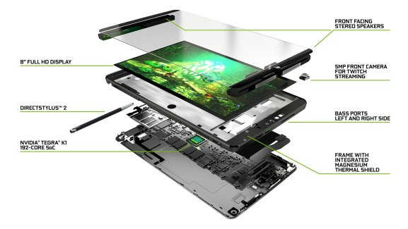 La Shield Tablet 4G 32 Go de Nvidia disponible en précommande