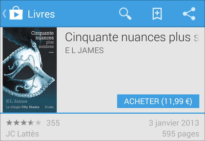 Comment acheter des livres numériques sur le Google Play Livres ?