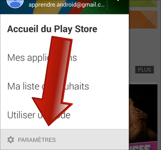 Comment paramétrer Google Play Store sur Android ?