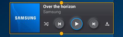 Comment redimensionner un widget sur Android ?