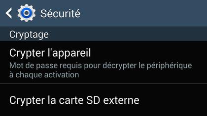 Comment crypter (chiffrer) les données de son appareil Android ?