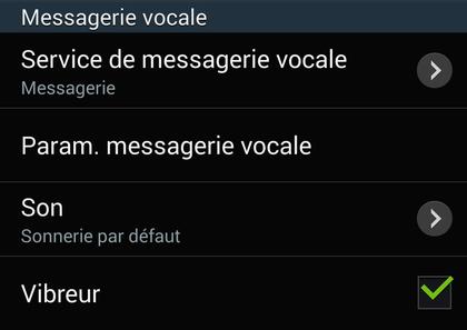 Comment paramétrer la messagerie vocale sur Android ?