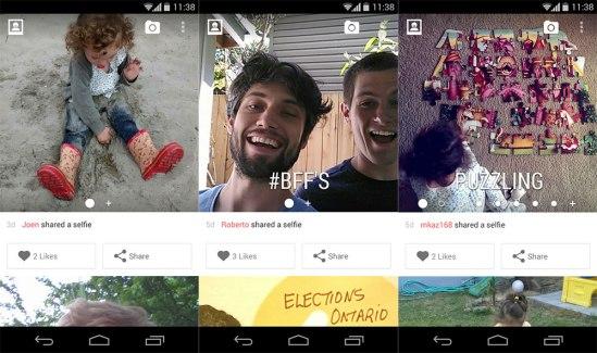 Les propriétaires de Gravatar lancent Selfies, le réseau social des autoportraits