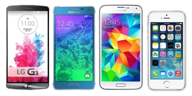 Comparatif Samsung Galaxy Alpha : mais où se situe-t-il ?