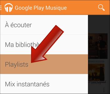 Comment écouter les musiques (MP3) hors ligne sur Google Play Musique (Android) ?