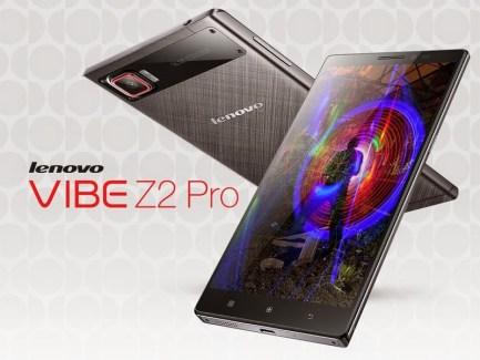 Lenovo dévoile le Vibe Z2 Pro et son écran QHD