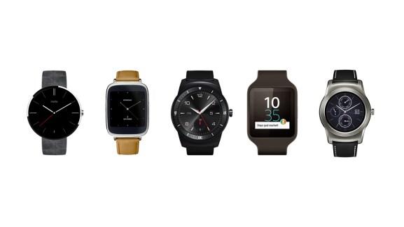 Mise à jour d'Android Wear : support du WiFi, des emojis et nouvelle gesture