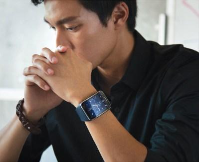 La Samsung Gear S fait ses premiers pas publics