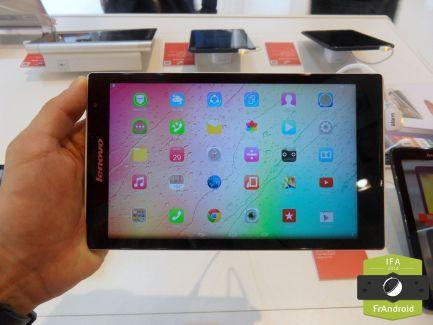 Prise en main de la Lenovo Tab S8, la tablette 8 pouces sous Intel
