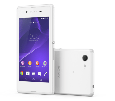 Xperia E3, Sony veut enfin démocratiser la 4G LTE