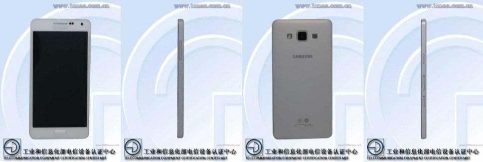 Samsung SM-A500 : le Galaxy Alpha «light» de 5 pouces se confirme