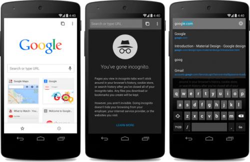Chrome 37 adopte le Material Design et les connexions multiples