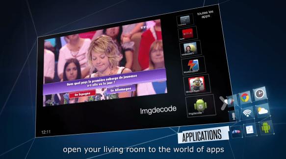 Projet Miami : la Bbox Android de Bouygues Telecom montre son interface en vidéo