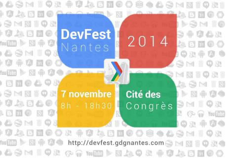 La DevFest met Nantes aux couleurs d'Android le 7 novembre !