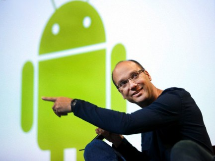 Andy Rubin, le co-fondateur d'Android, quitte le navire