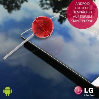 LG confirme Android Lollipop pour les G3 et G2