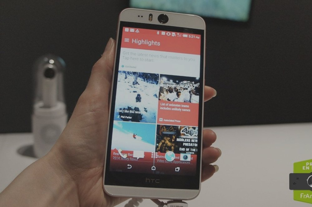 Prise en main du HTC Desire Eye, le plus abouti des selfie-phones