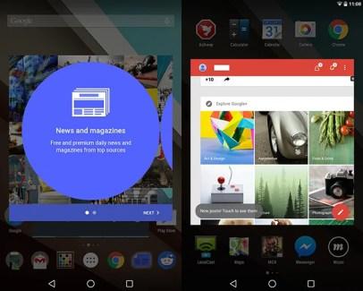 Un mode multi-fenêtres pour Android L ?