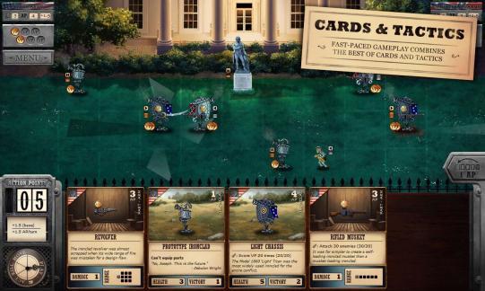 Ironclad Tactics : rejouez la guerre de Sécession… avec des robots