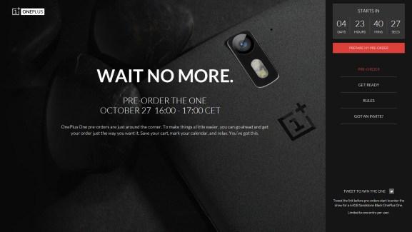 Les précommandes du OnePlus One sont en fait une vente flash
