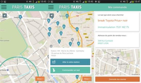 Paris Taxis : la Ville choisit la voie du smartphone pour soutenir ses taxis