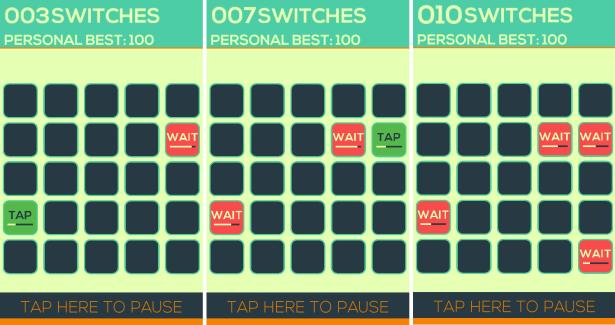 Switch joue avec votre dextérité et surtout avec votre patience