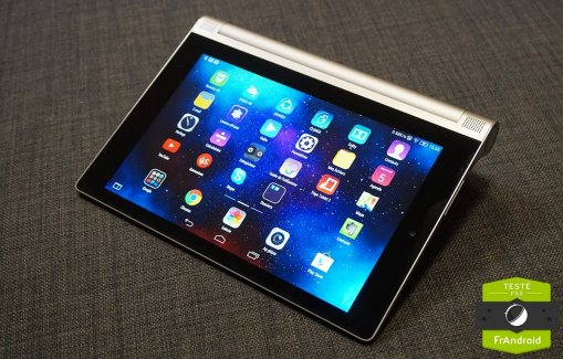 Test de la Lenovo Yoga Tablet 2, la plus pratique du marché ?
