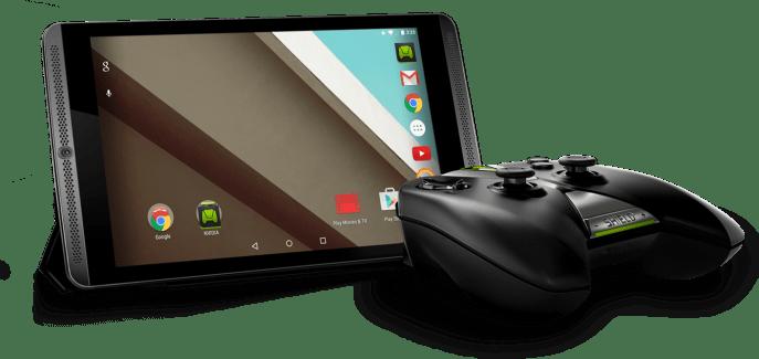 Lollipop sur la Shield Tablet arrive avec Grid, le service de cloud gaming pour streamer les jeux PC