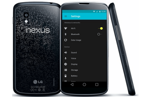 Nexus 4 : l'image de restauration Lollipop (LRX21T) est disponible