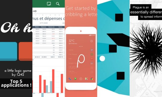 Les apps de la semaine : Z Launcher Beta, Microsoft Office Mobile, 0h h1, Phases et Plague – The Network