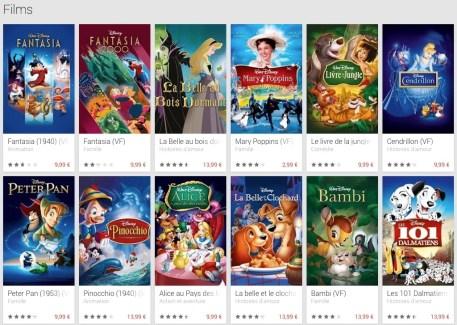 Disney Movies Anywhere : l'accès aux films Disney sur le Play Store et iTunes