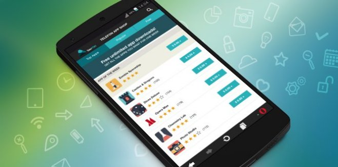 Opera mise sur le téléchargement illimité d'applications sur son portail mobile