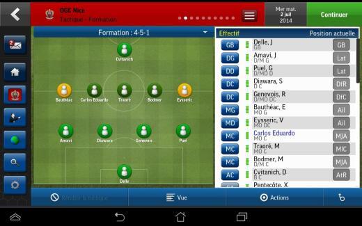 Football Manager Handheld 2015 est arrivé sur Android