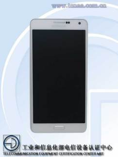 Le Galaxy A7 de Samsung enfin aperçu : un 5,5 pouces Full HD très fin