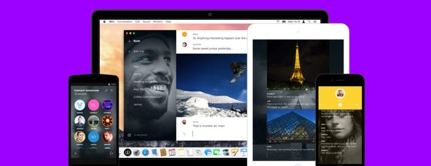 Wire : la prochaine grande application de communication mobile ?