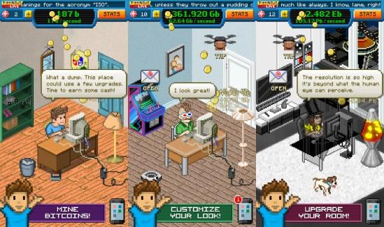 Bitcoin Billionaire : le jeu ultra-addictif où vous devez seulement miner du Bitcoin