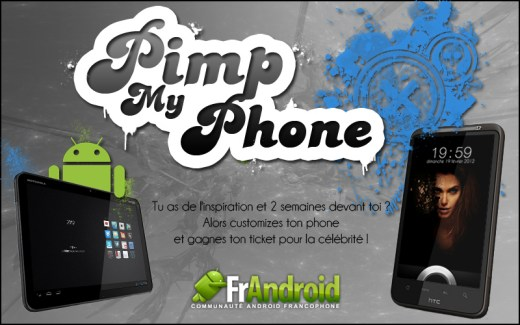 Pimp My Phone : les homescreens créés par les membres du forum FrAndroid