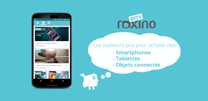 Roxino : Voici l'application mobile et les bons plans du week-end !