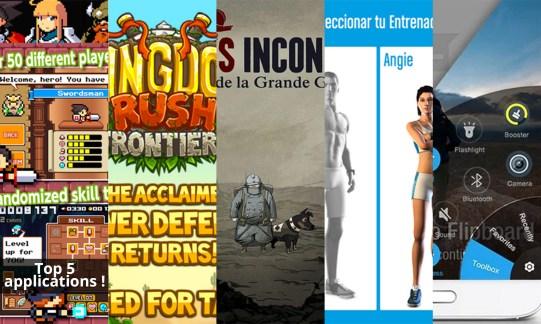 Les apps de la semaine : Drancia, Kingdom Rush Frontiers, Soldats Inconnus, Runtastic Six Pack Abs Workout et Lazy Swipe