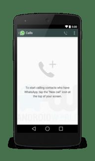WhatsApp : les appels vocaux se laissent entrevoir dans sa dernière mise à jour