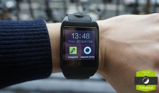 Prise en main de la Inwatch Z, une montre autonome difficile à porter